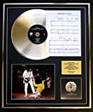QUEEN/ CD GOLD DISC, SCHEDA SONG & VISUALIZZAZIONE FOTO / ALBUM A DAY AT THE RACES/ SCHEDA DI SONG SOMEBODY TO LOVE
