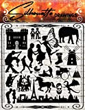 Silhouette Drawings: A Collection of Cute Silhouette Designs from A to Z. A Great Source of Inspiration for Artists and Craftspeople.
